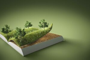 abstract-trees-ground-book-with-copy-space